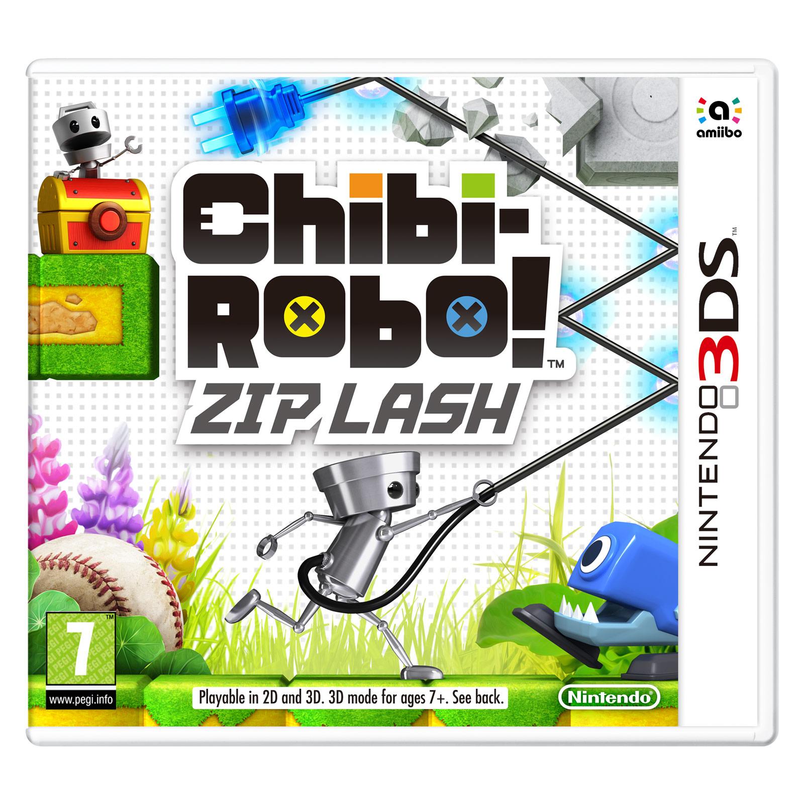 Jeux Nintendo 3DS Chibi-Robo! Zip Lash (Nintendo 3DS/2DS) Chibi-Robo! Zip Lash (Nintendo 3DS/2DS)