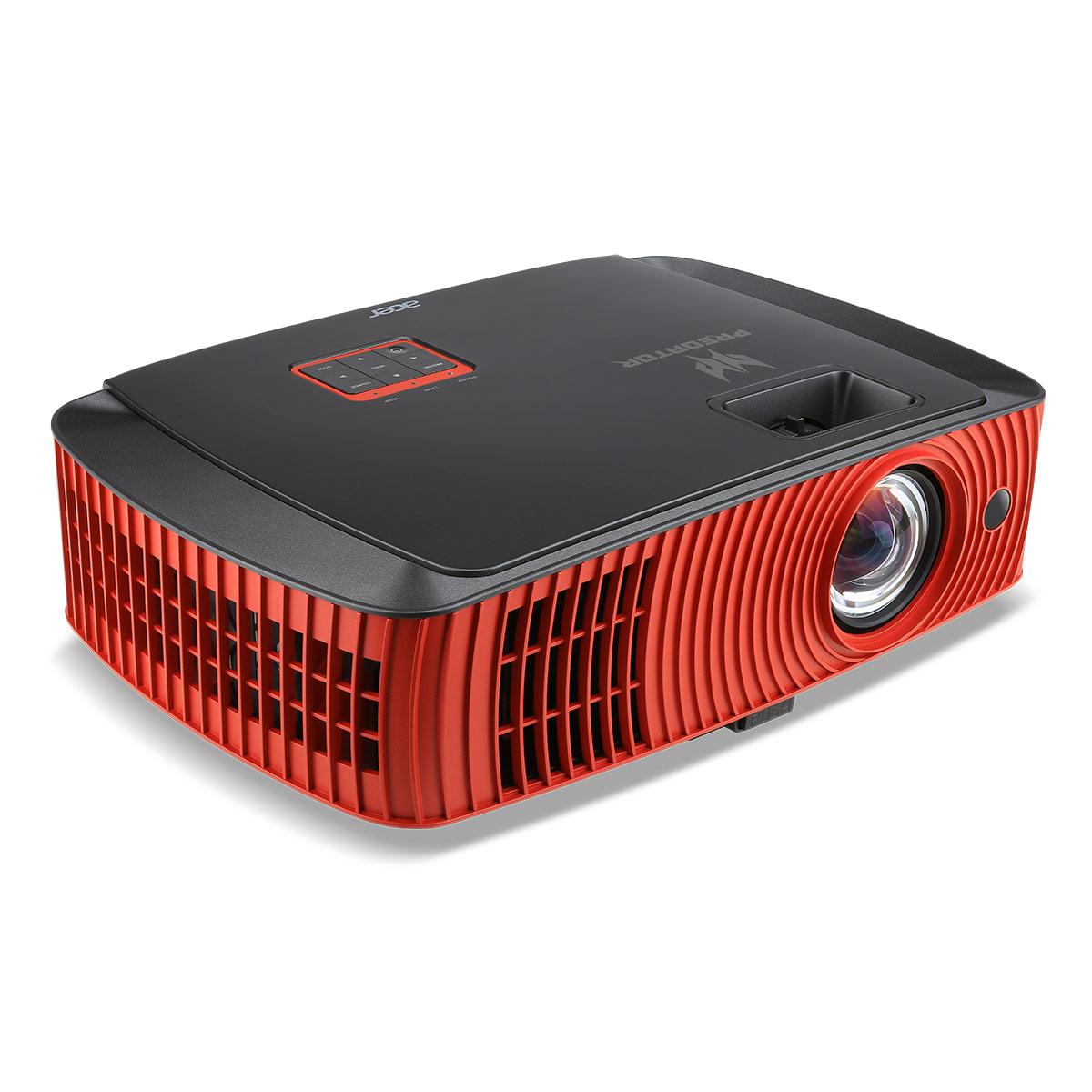 Vidéoprojecteur Acer Predator Z650 + Lunettes 3D Vidéoprojecteur DLP pour gamer 3D Full HD Native 2200 Lumens + 2 paires de lunettes 3D