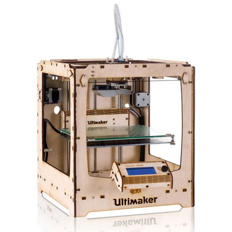 Imprimante 3D Ultimaker Original + Imprimante 3D couleur en kit à monter à 1 tête d'impression ABS/PLA/Nylon - USB