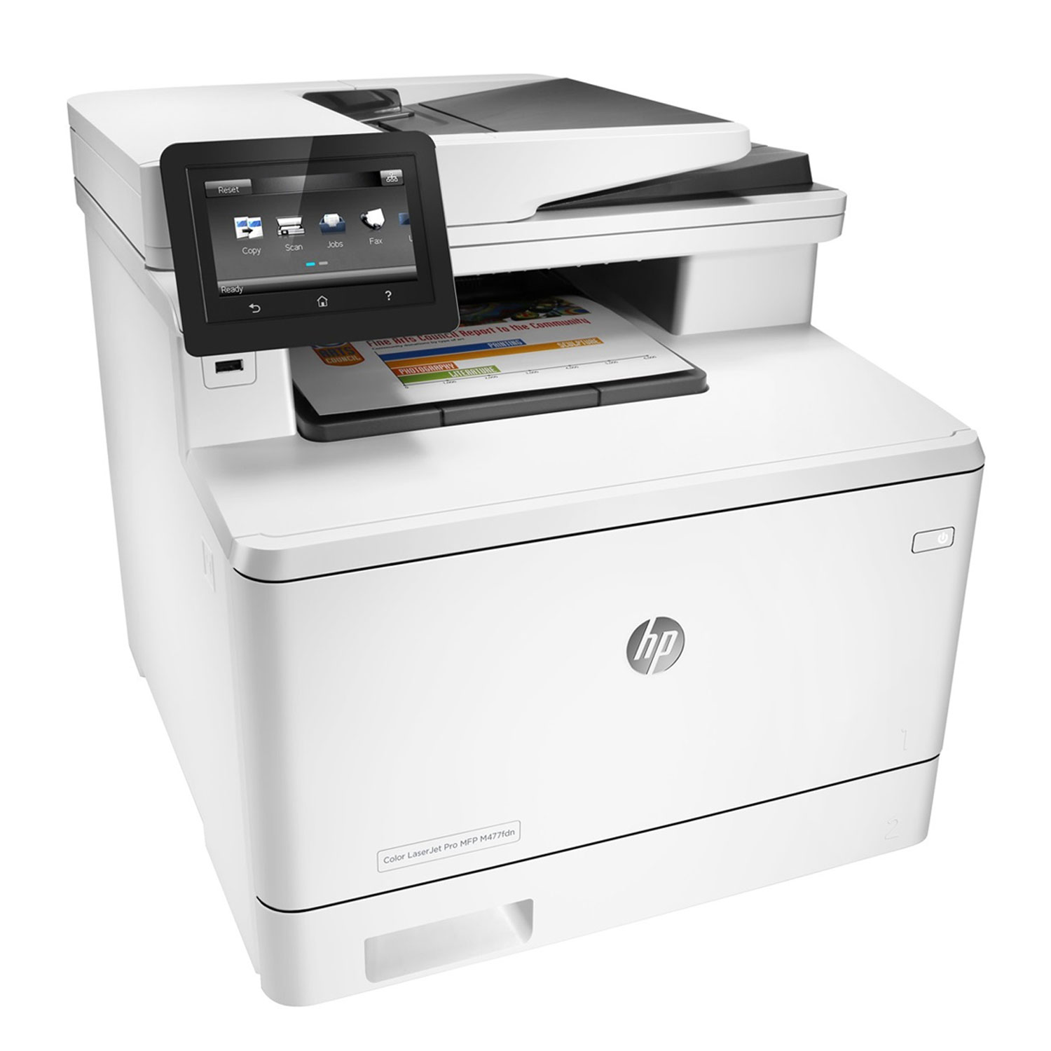 hp color laserjet pro mfp m477fdn imprimante. Black Bedroom Furniture Sets. Home Design Ideas