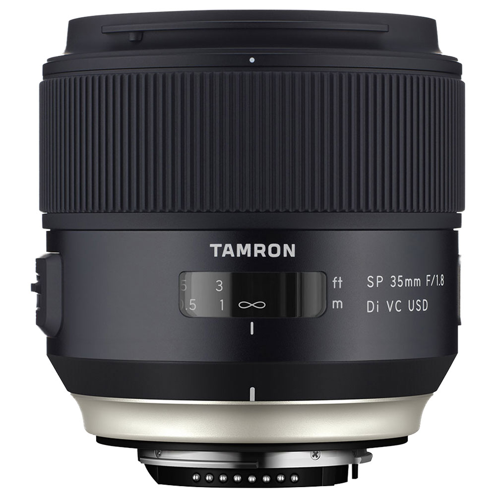 tamron sp 35mm f 1 8 di vc usd canon objectif appareil photo tamron sur. Black Bedroom Furniture Sets. Home Design Ideas