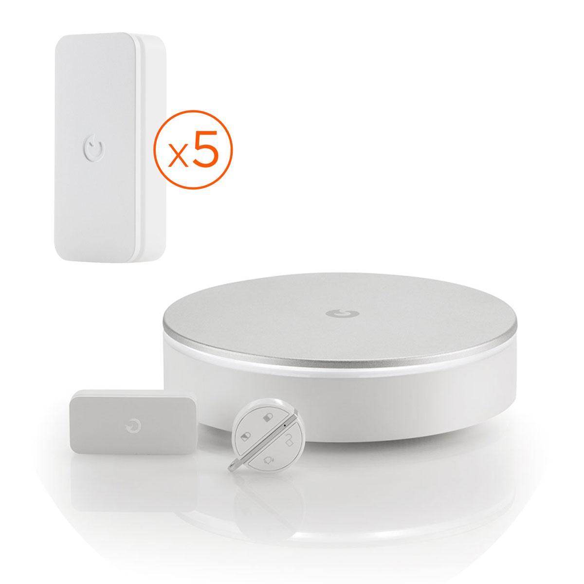myfox home alarm pack d tection kit alarme myfox sur. Black Bedroom Furniture Sets. Home Design Ideas