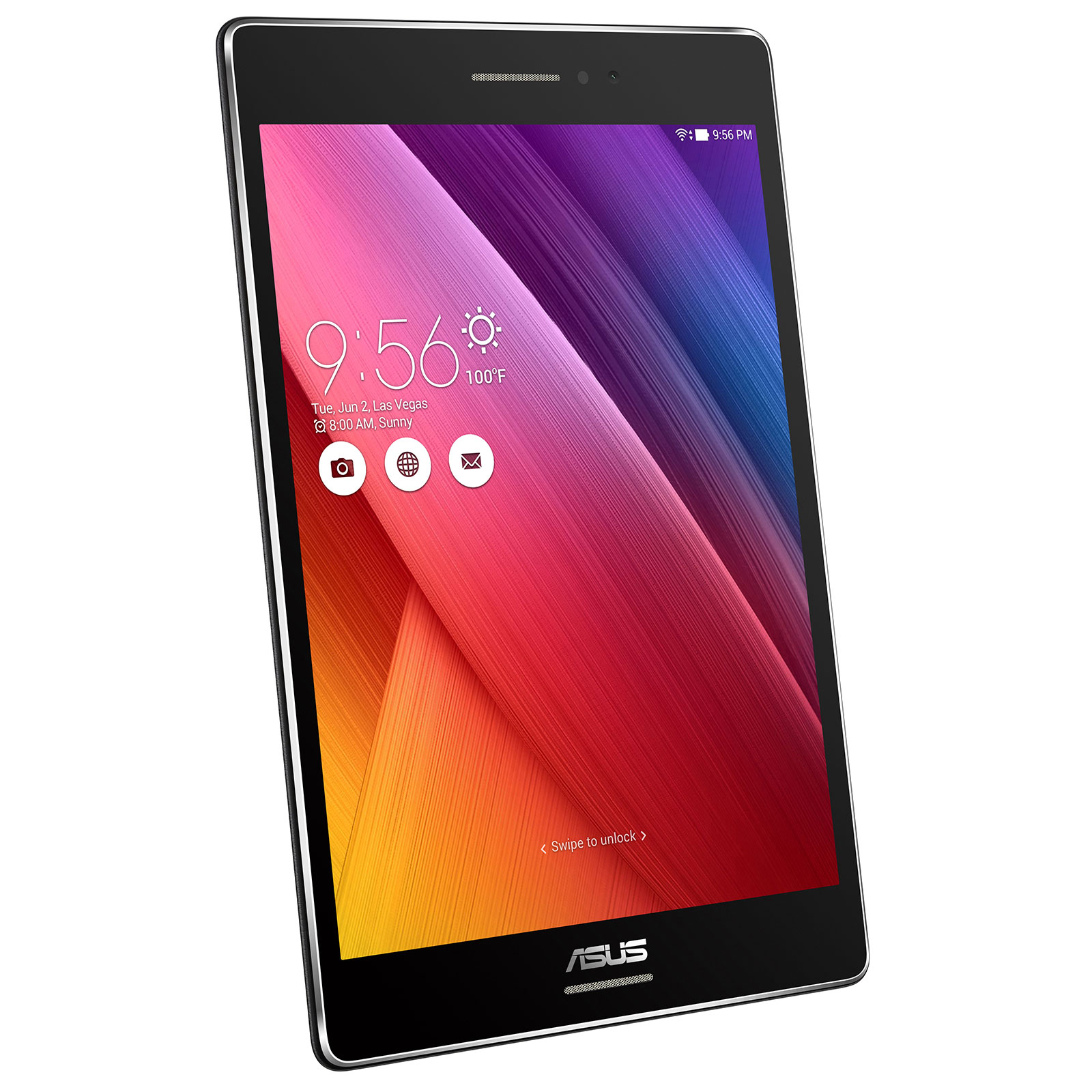 asus zenpad s 8 0 z580c 1a007a noir tablette tactile asus sur. Black Bedroom Furniture Sets. Home Design Ideas