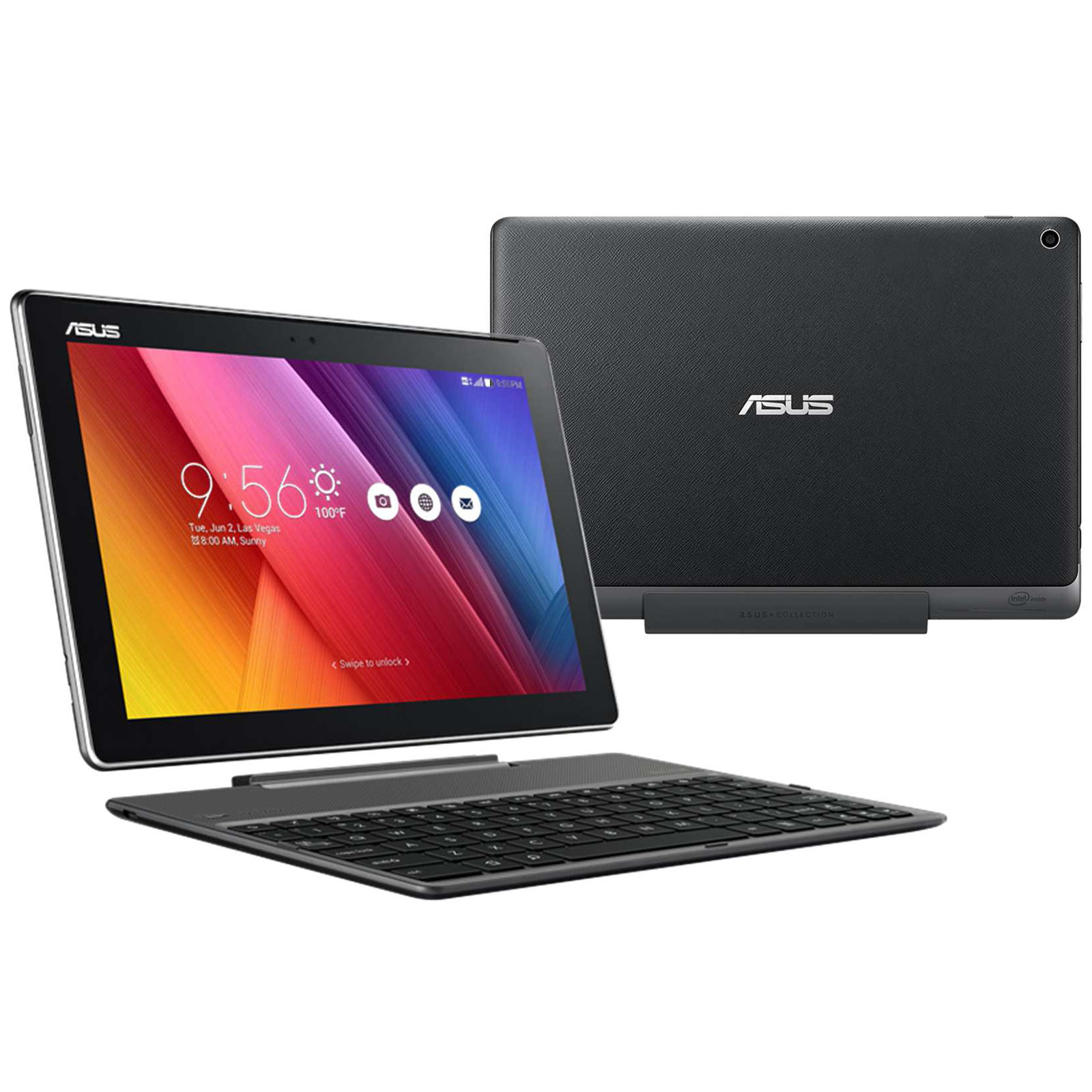 asus zenpad 10 zd300c 1a032a noir tablette tactile asus. Black Bedroom Furniture Sets. Home Design Ideas