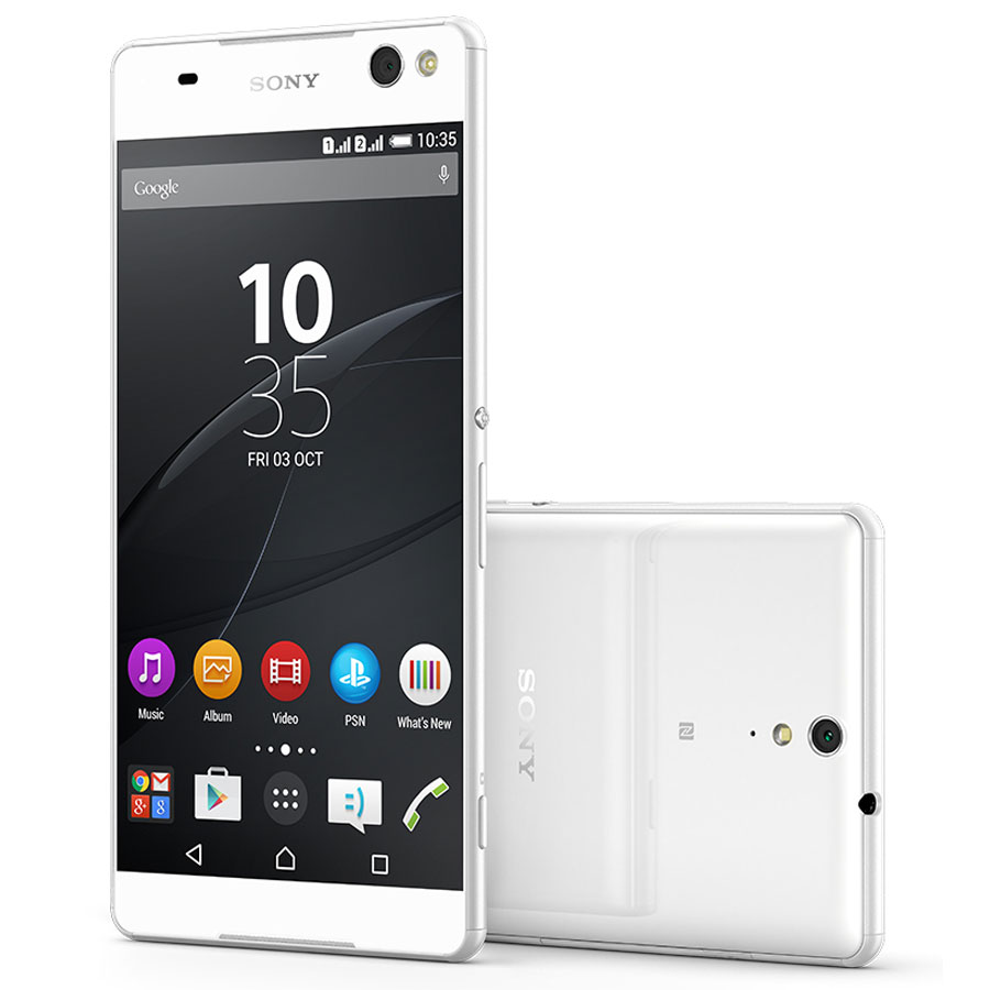 sony xperia c5 ultra dual blanc mobile smartphone sony sur. Black Bedroom Furniture Sets. Home Design Ideas
