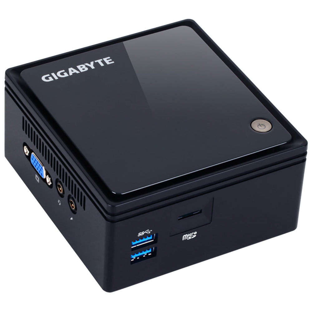 "Barebone PC Gigabyte Brix GB-BACE-3000 Intel Celeron N3000 Intel HD Graphics Wi-Fi AC Bluetooth 4.0 - Slot HDD 2.5"" (sans écran/mémoire/disque dur)"