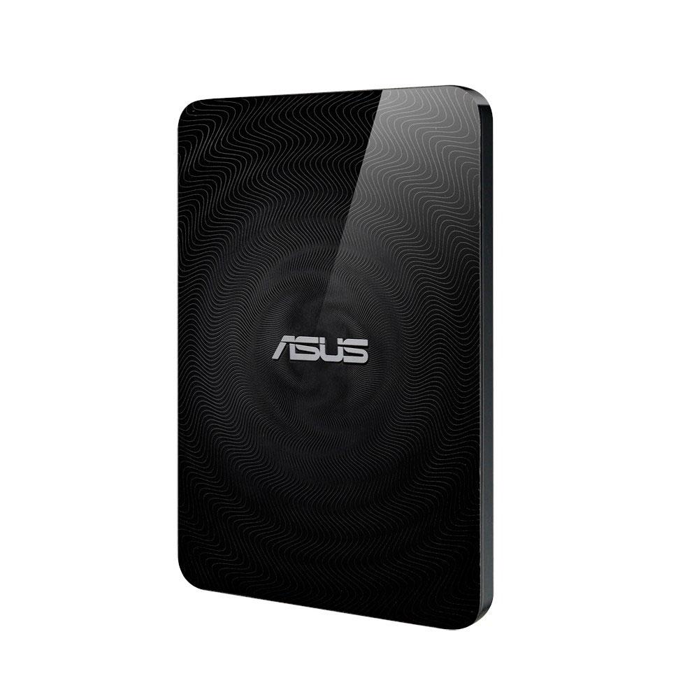 "Disque dur externe ASUS Travelair N (WHD-A2) 1To Disque dur externe 2.5"" WiFi/USB 3.0/NFC avec slot SD"