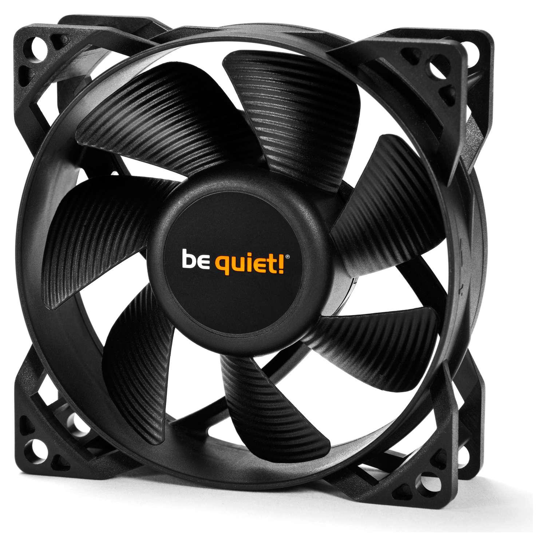 Ventilateur boîtier be quiet! Pure Wings 2 80 mm PWM Ventilateur de boîtier 80 mm PWM (Garantie 3 ans constructeur)