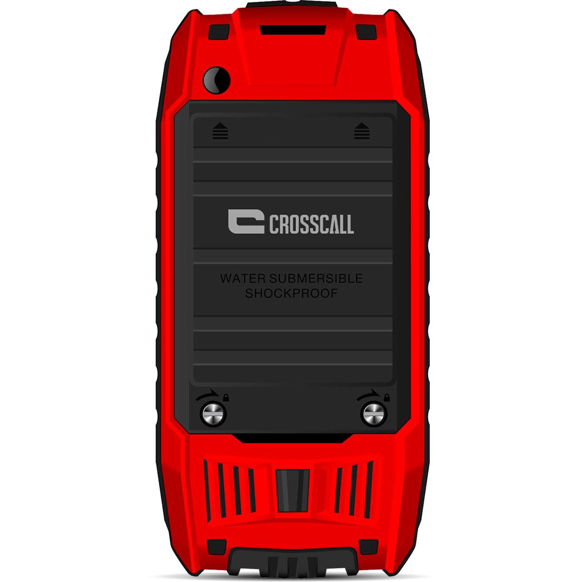 Crosscall shark v2 rouge mobile smartphone crosscall for Photo ecran telephone