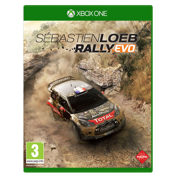 s bastien loeb rally evo xboxone jeux xbox one bandai namco games sur. Black Bedroom Furniture Sets. Home Design Ideas