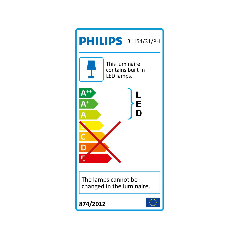 Philips Hue Phoenix Lampe De Table Ampoule Connectee Philips Sur