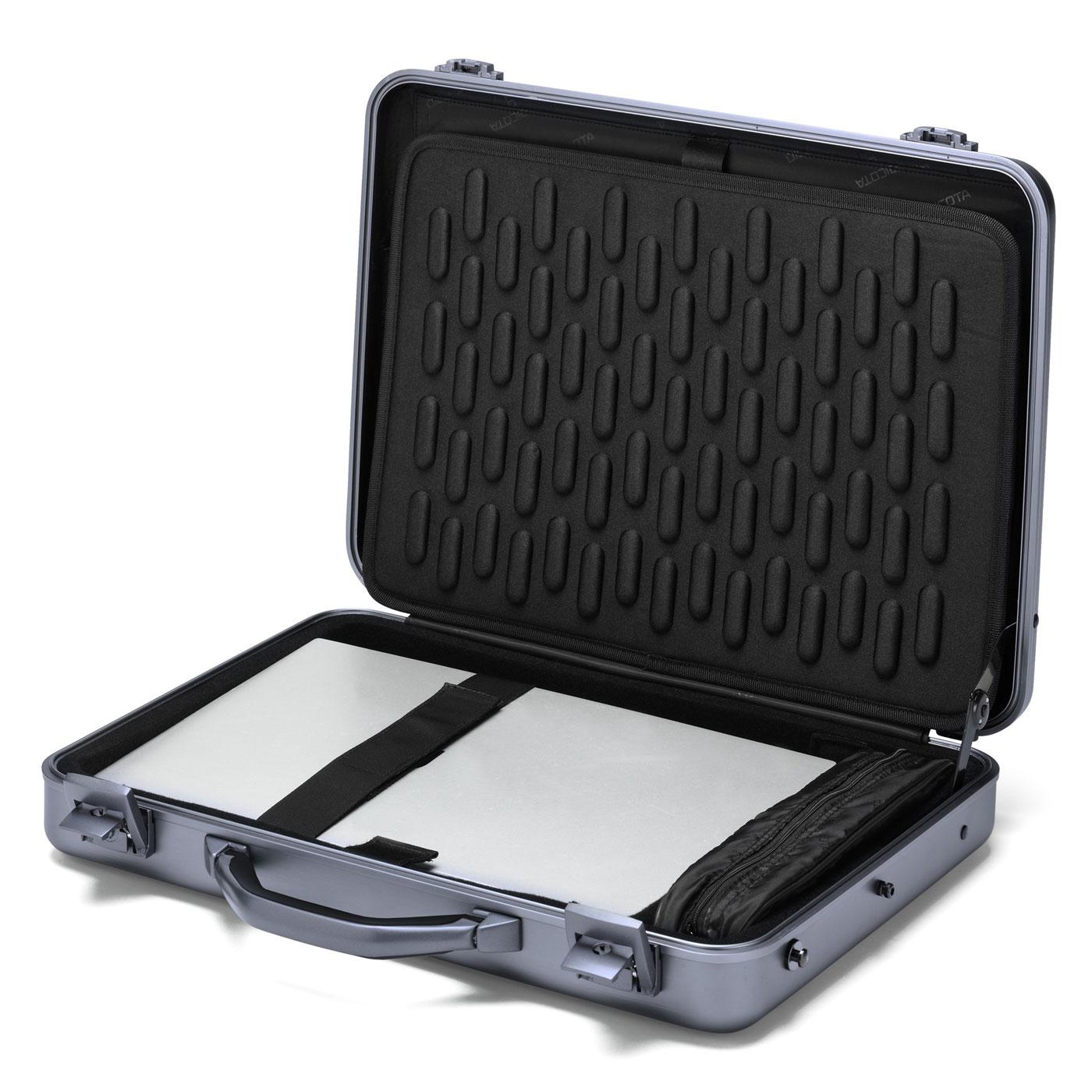 dicota alu briefcase 16 17 sac sacoche housse dicota sur. Black Bedroom Furniture Sets. Home Design Ideas