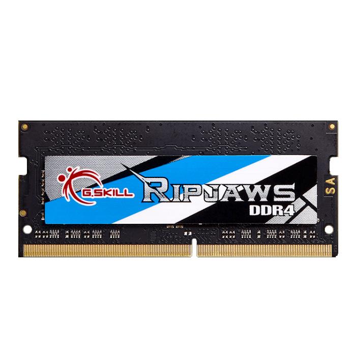 Mémoire PC portable G.Skill RipJaws Series SO-DIMM 4 Go DDR4 2400 MHz CL16 RAM SO-DIMM PC4-19200 - F4-2400C16S-4GRS