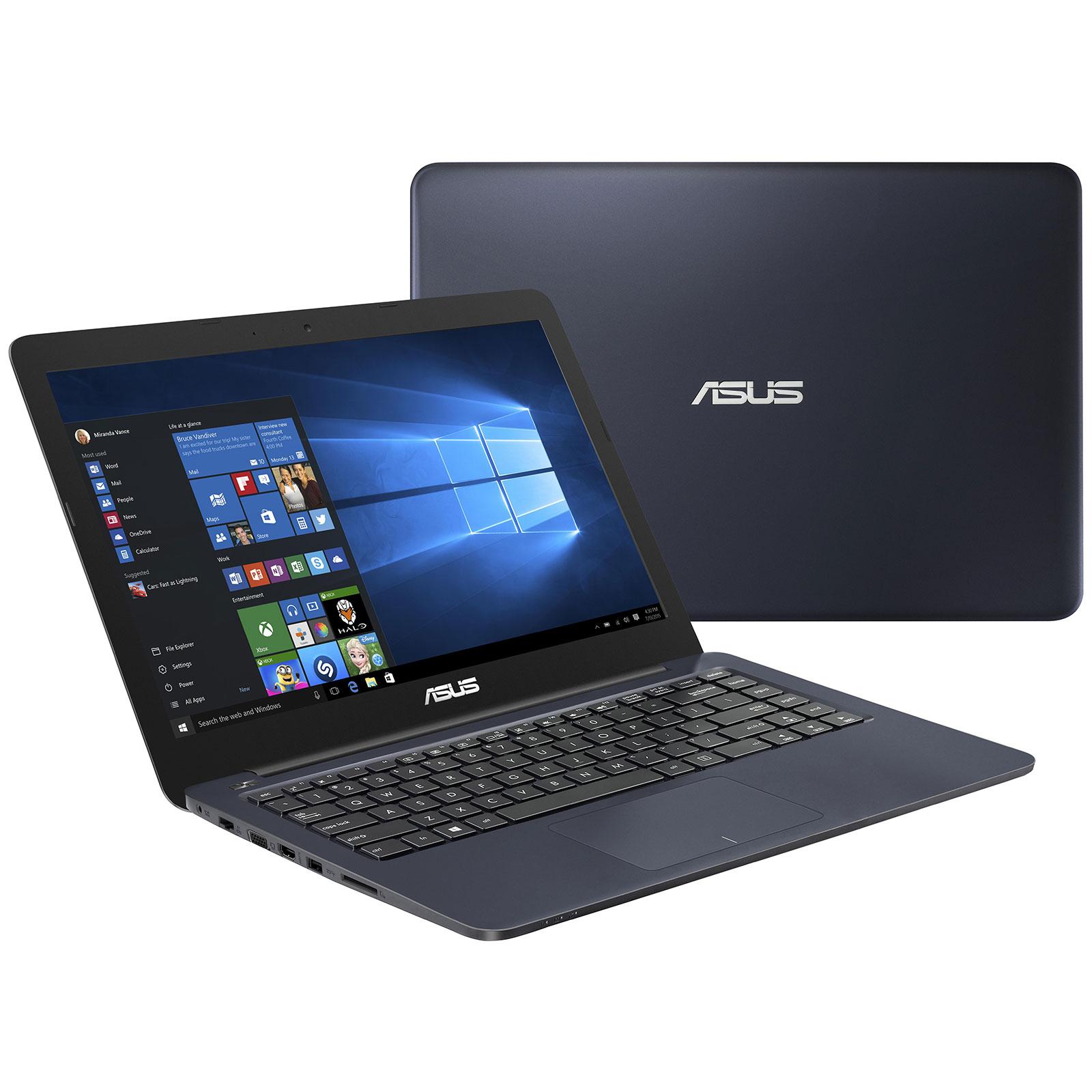 4f55055b7801ab PC portable ASUS EeeBook E402SA-WX027T Bleu Intel Celeron N3150 4 Go 500 Go  14