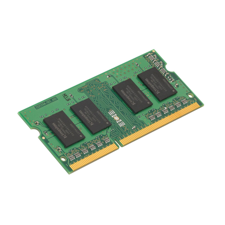 Mémoire PC portable Kingston ValueRAM SO-DIMM 8 Go DDR4 2400 MHz CL17 RAM SO-DIMM DDR4 PC4-19200 - KVR24S17S8/8