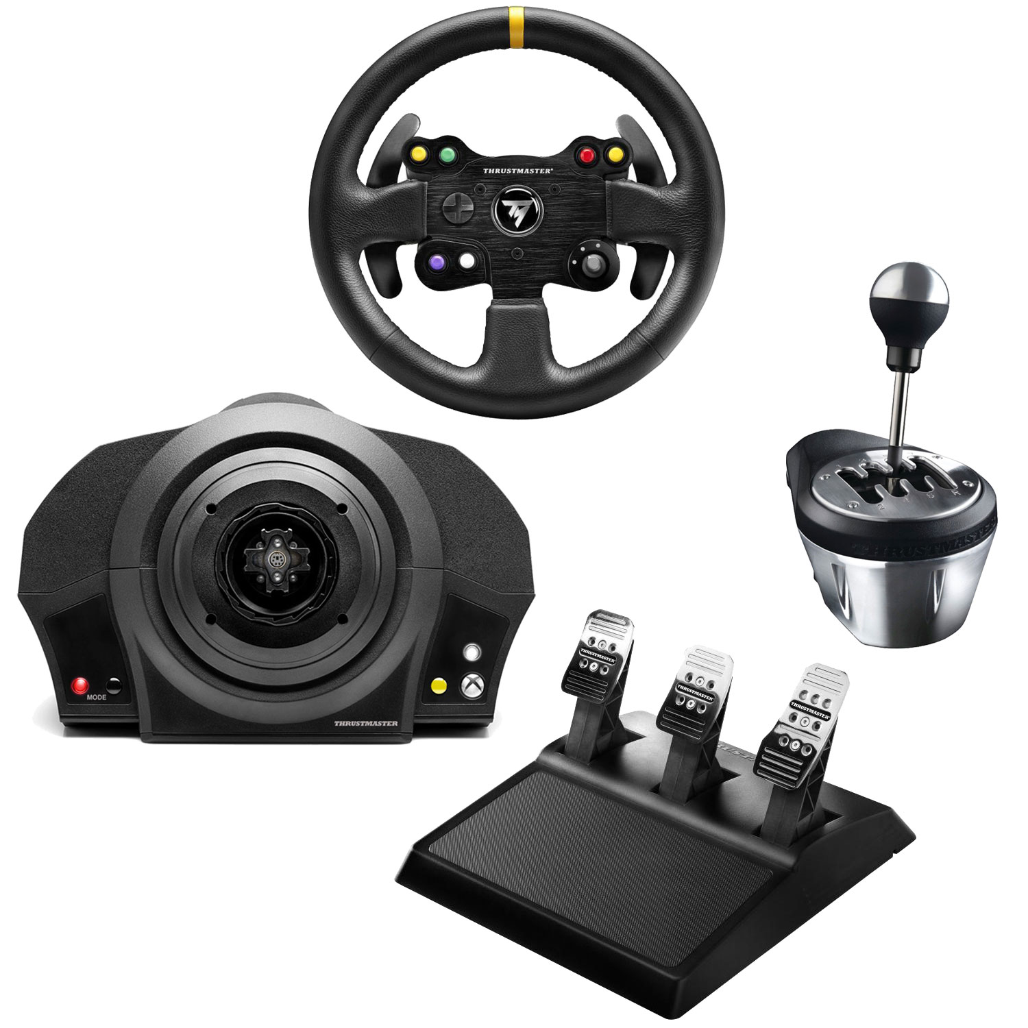 thrustmaster tx racing kit gt edition volant pc. Black Bedroom Furniture Sets. Home Design Ideas
