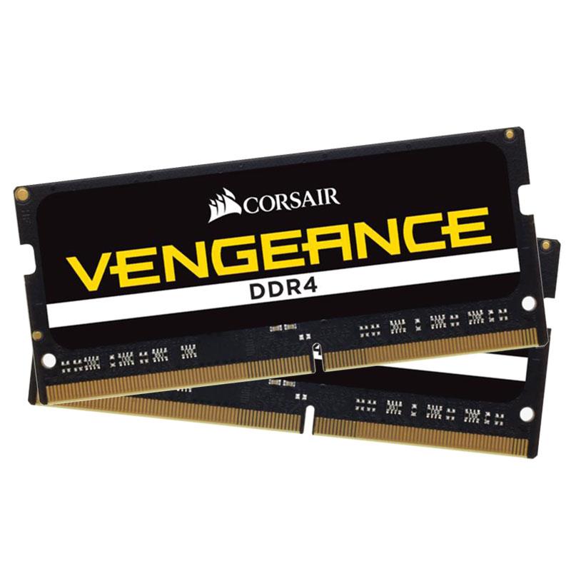 Mémoire PC Corsair Vengeance SO-DIMM DDR4 16 Go (2 x 8 Go) 3000 MHz CL16 Kit Dual Channel RAM DDR4 PC4-24000 - CMSX16GX4M2A3000C16 (garantie 10 ans par Corsair)