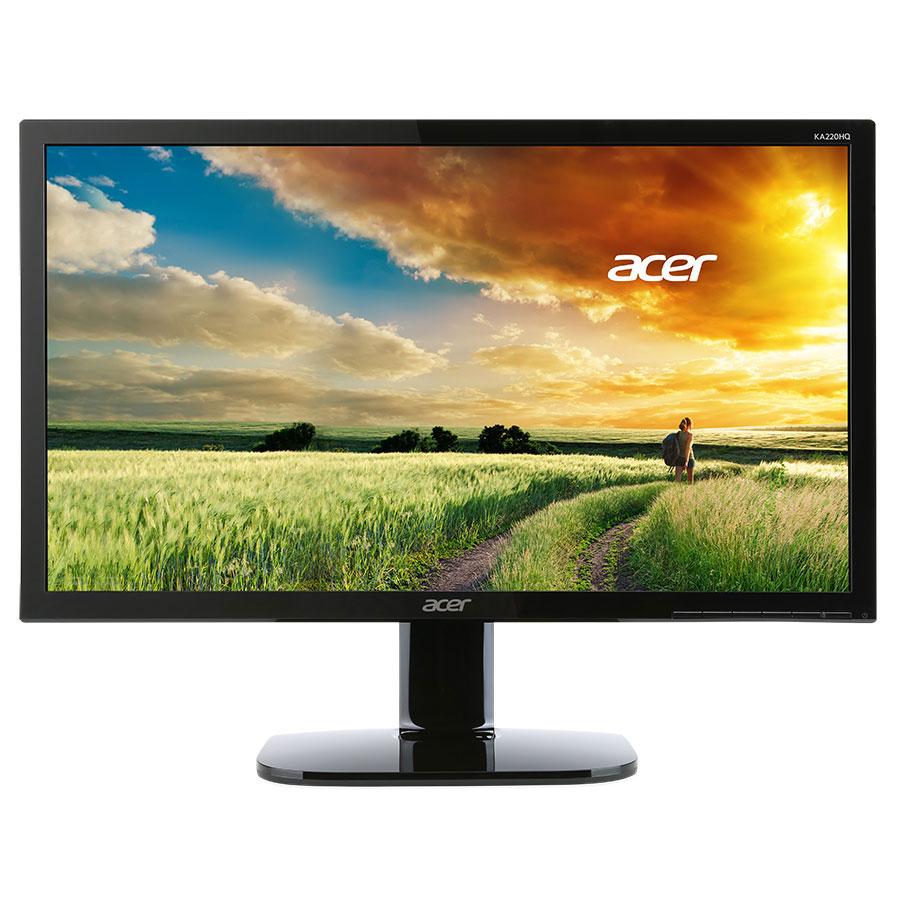 """Ecran PC Acer 21.5"""" LED - KA220HQbid 1920 x 1080 pixels - 5 ms (gris à gris) - Format large 16/9 - Noir (Garantie constructeur 3 ans)"""