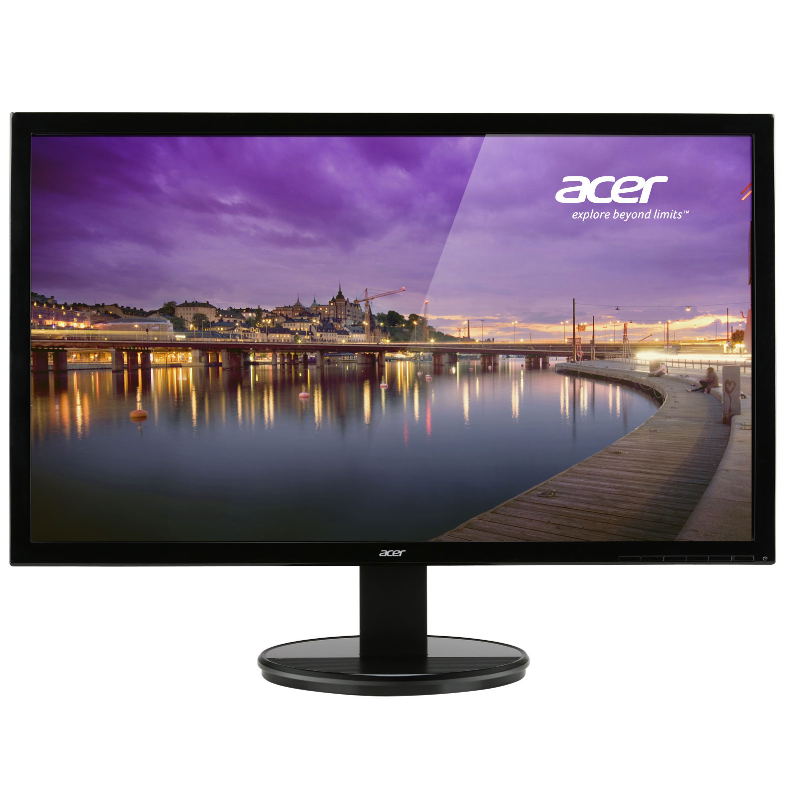 Acer 24 led k242hlbid ecran pc acer sur for Ecran pc 24 pouces