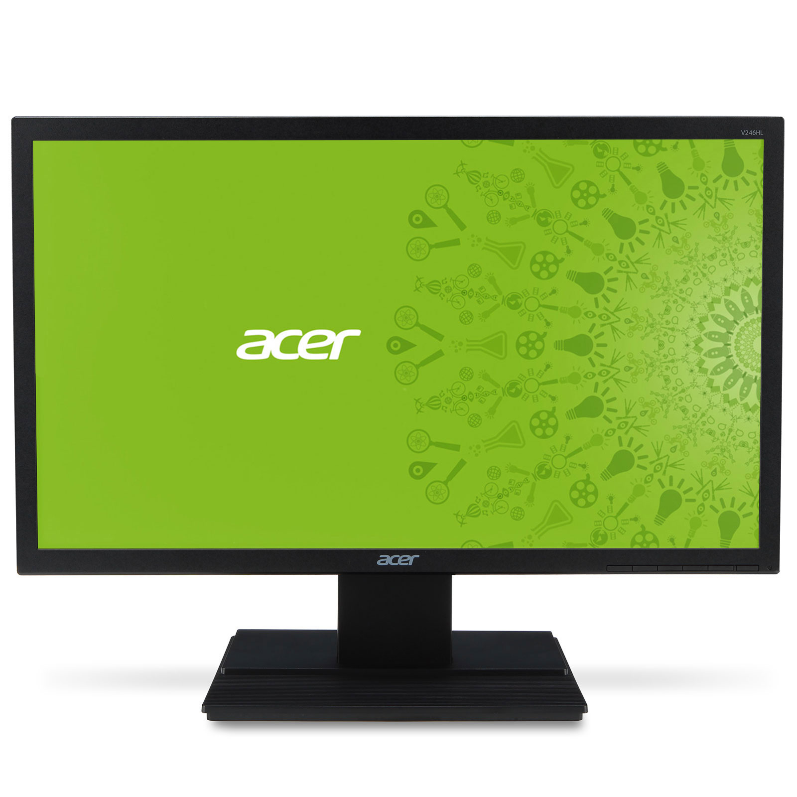 acer 24 led v246hlbid ecran pc acer sur. Black Bedroom Furniture Sets. Home Design Ideas