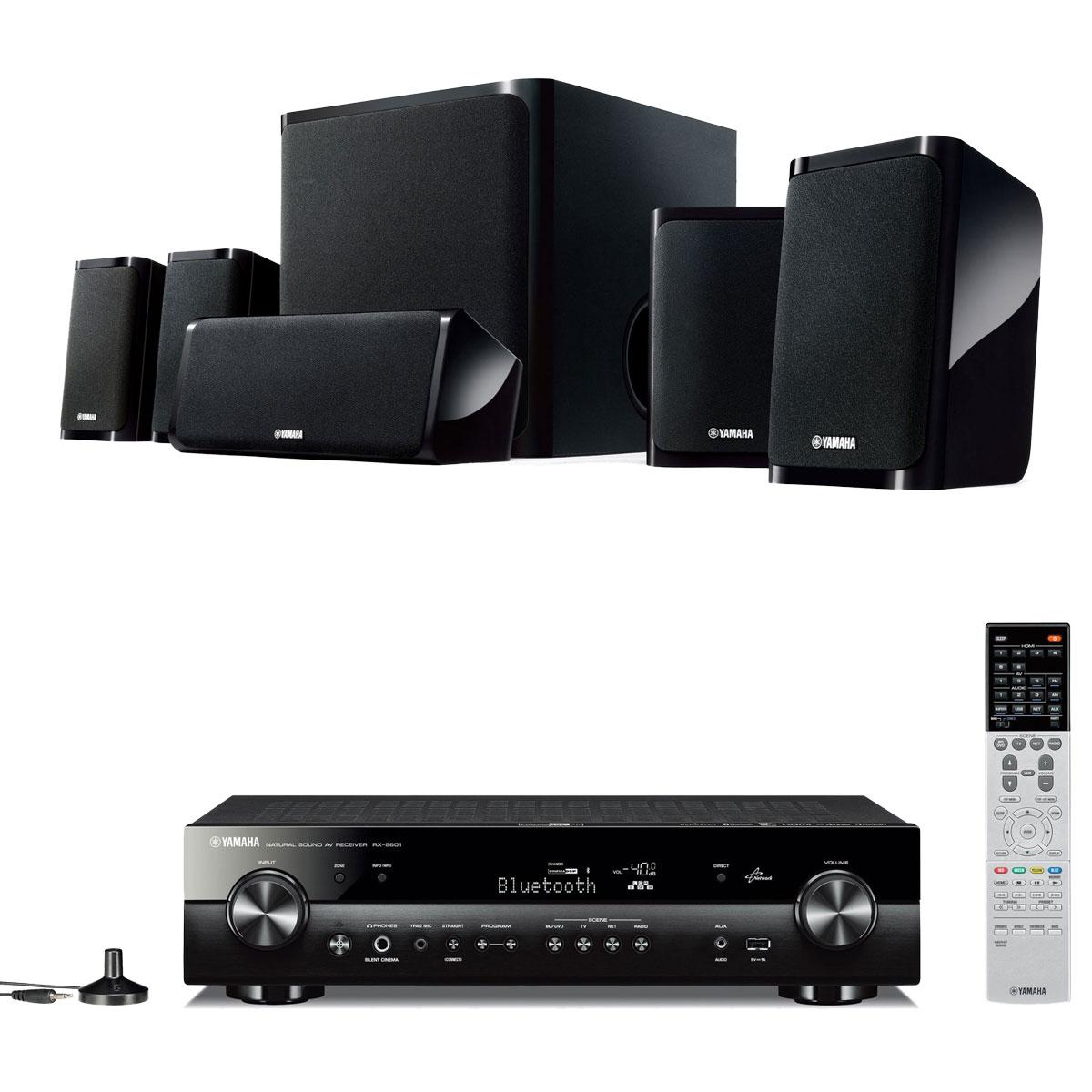 Yamaha rx s601 noir yamaha ns p40 ensemble home cin ma for Yamaha ns p20 vs ns p40