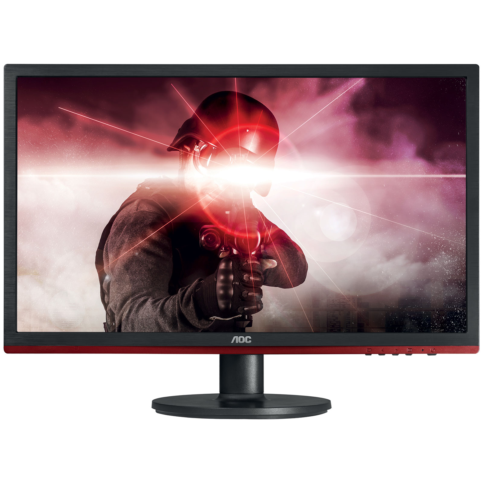 "Ecran PC AOC 21.5"" LED - G2260VWQ6 1920 x 1080 pixels - 1 ms - Format large 16/9 - DisplayPort - HDMI - Noir"