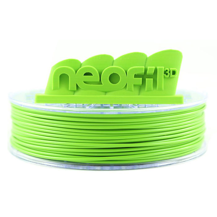 Filament 3D Neofil3D Bobine ABS 1.75mm 750g - Vert pomme Bobine 1.75mm pour imprimante 3D