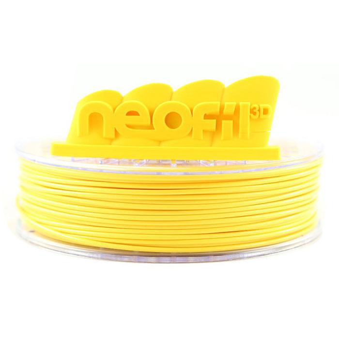 Filament 3D Neofil3D Bobine ABS 2.85mm 750g - Jaune Bobine 2.85mm pour imprimante 3D