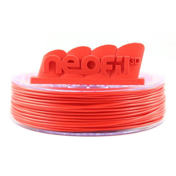 Filament 3D Neofil3D Bobine ABS 2.85mm 750g - Rouge Bobine 2.85mm pour imprimante 3D