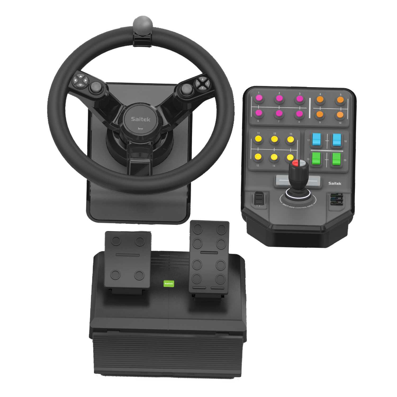 logitech g saitek farming simulator controller volant pc logitech sur