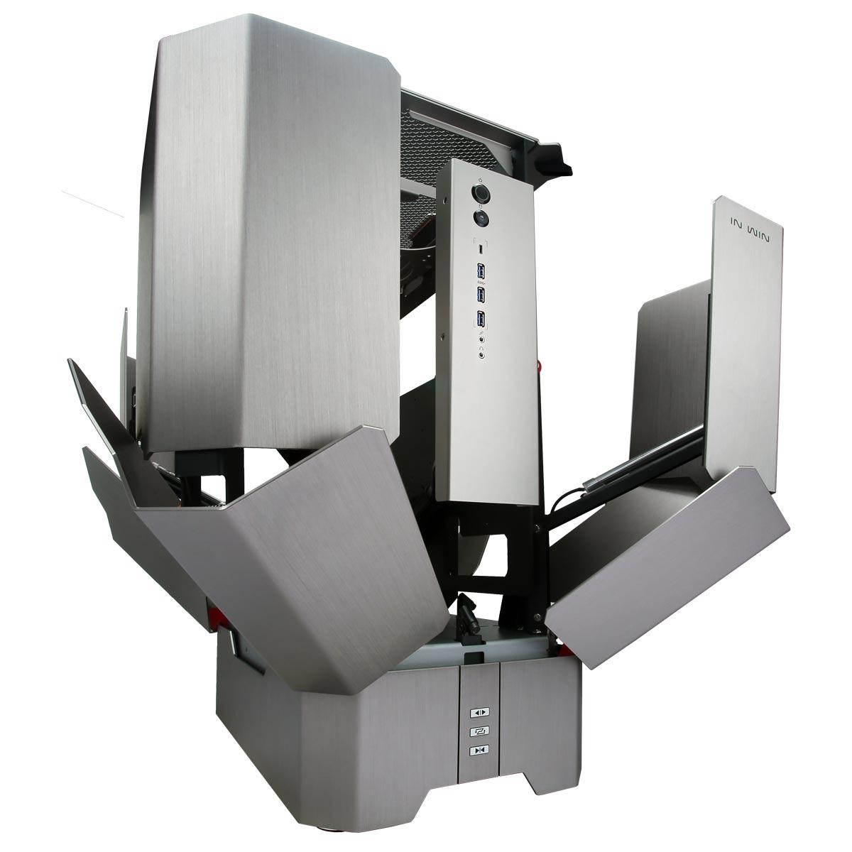 in win h tower titanium bo tier pc in win sur. Black Bedroom Furniture Sets. Home Design Ideas