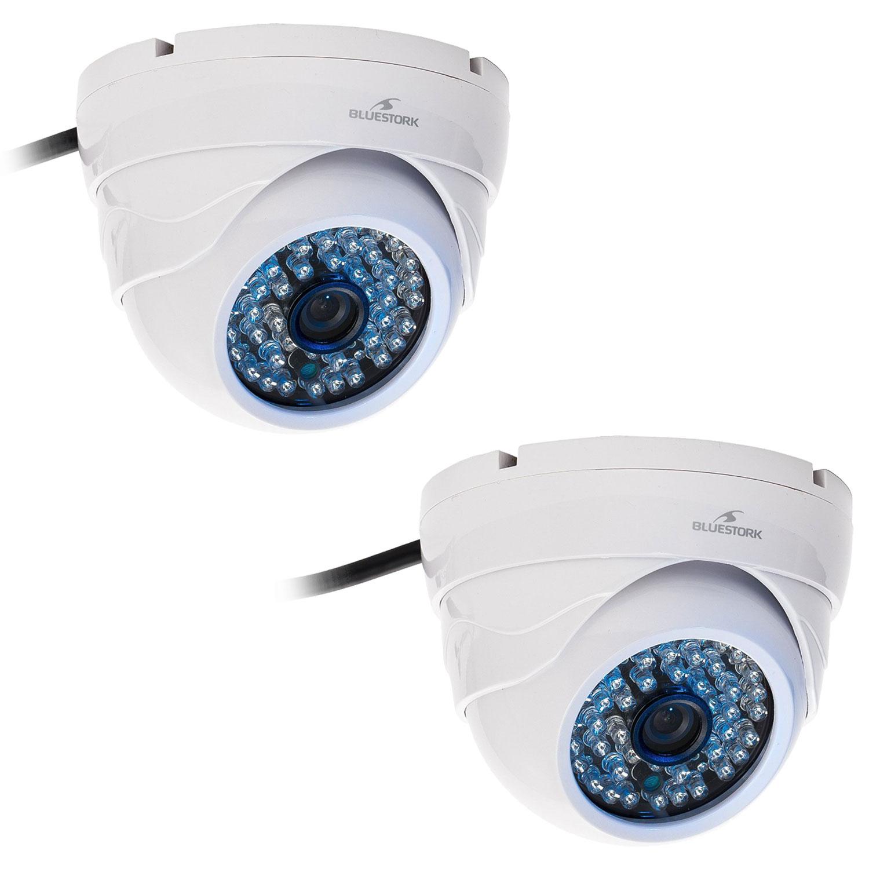 Bluestork BS-CAM/DO/HD x 2 - Caméra IP Bluestork sur LDLC.com