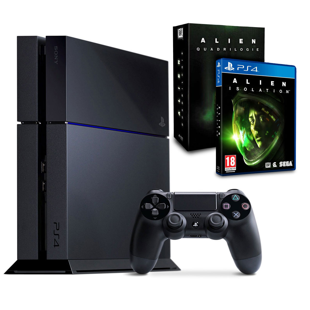 sony playstation 4 alien saga 500 go console ps4 sony. Black Bedroom Furniture Sets. Home Design Ideas