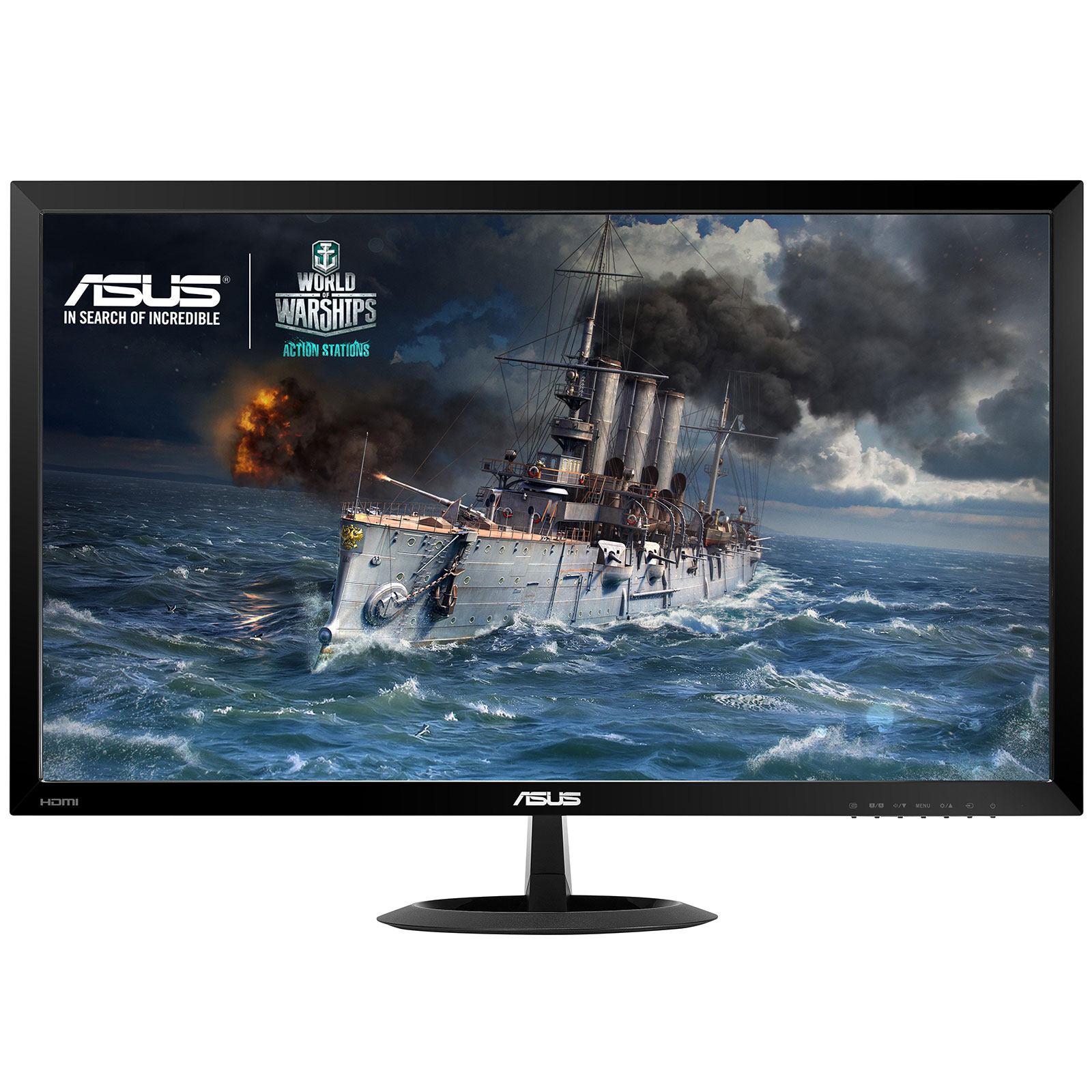 "Ecran PC ASUS 27"" LED - VX278H 1920 x 1080 pixels - 1 ms (gris à gris) - Format large 16/9 - Ultra Low Blue Light + Flicker Free - HDMI (garantie constructeur 3 ans)"
