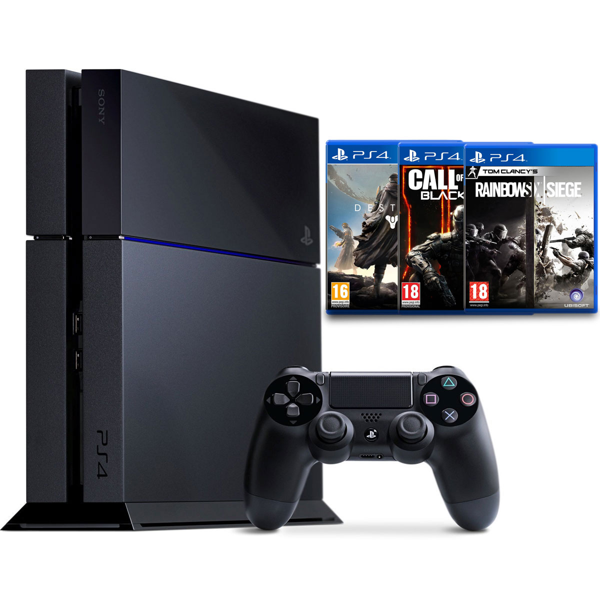 Sony playstation 4 500 go fps pack console ps4 sony interactive entertainment sur - Nouvelle console de jeux ...
