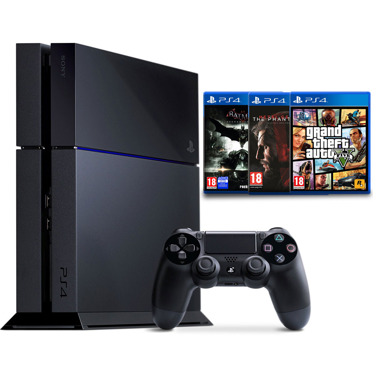 sony playstation 4 500 go action pack console ps4 sony. Black Bedroom Furniture Sets. Home Design Ideas