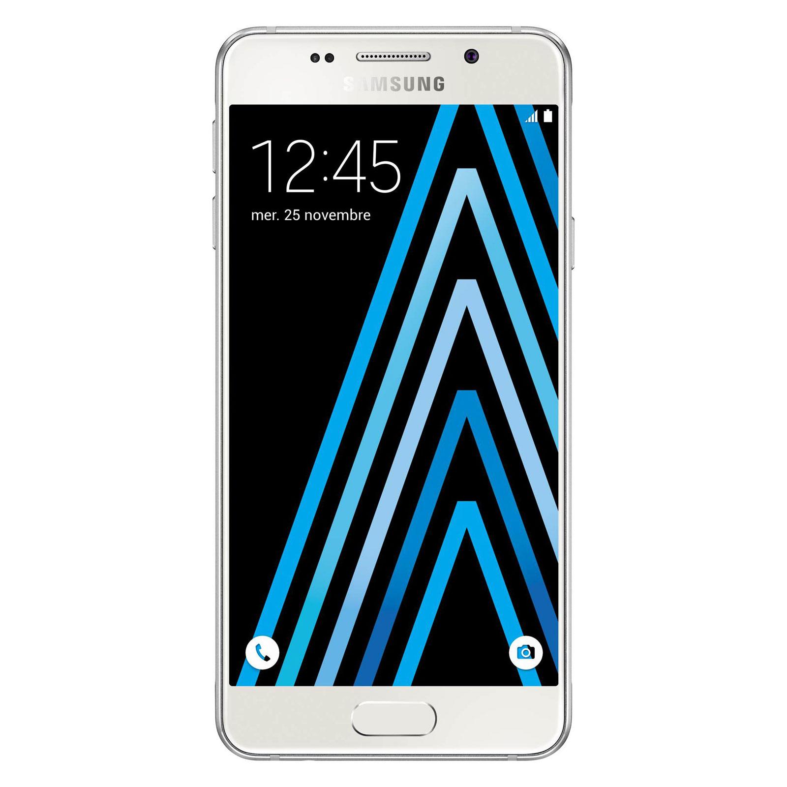 Mobile   smartphone Samsung Galaxy A3 2016 Blanc Smartphone 4G-LTE -  Snapdragon 410 Quad 97d9aada443b