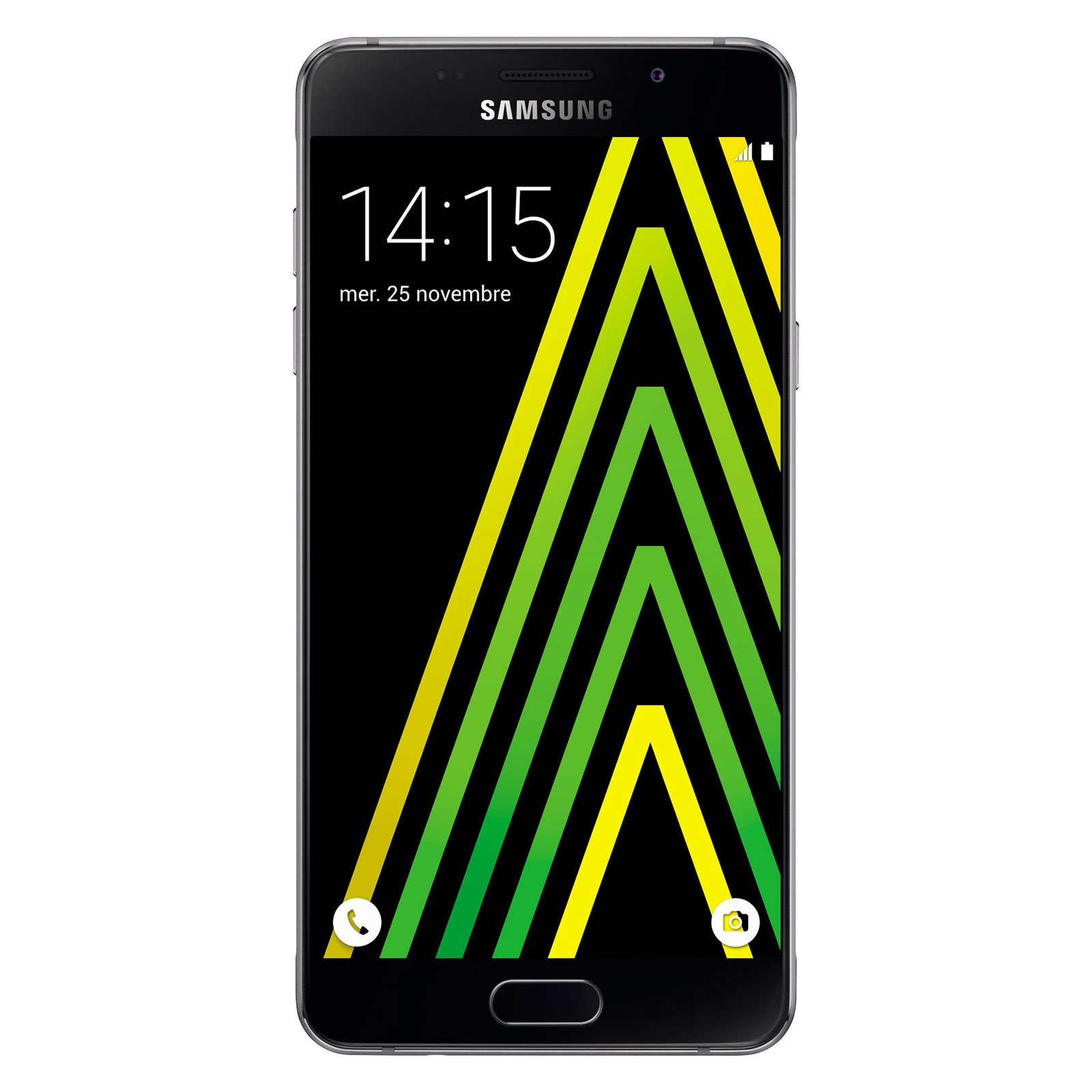 "Mobile & smartphone Samsung Galaxy A5 2016 Noir Smartphone 4G-LTE - Exynos 7580 8-Core 1.6 Ghz - RAM 2 Go - Ecran tactile 5.2"" 1080 x 1920 - 16 Go - NFC/Bluetooth 4.1 - 2900 mAh - Android 5.1"