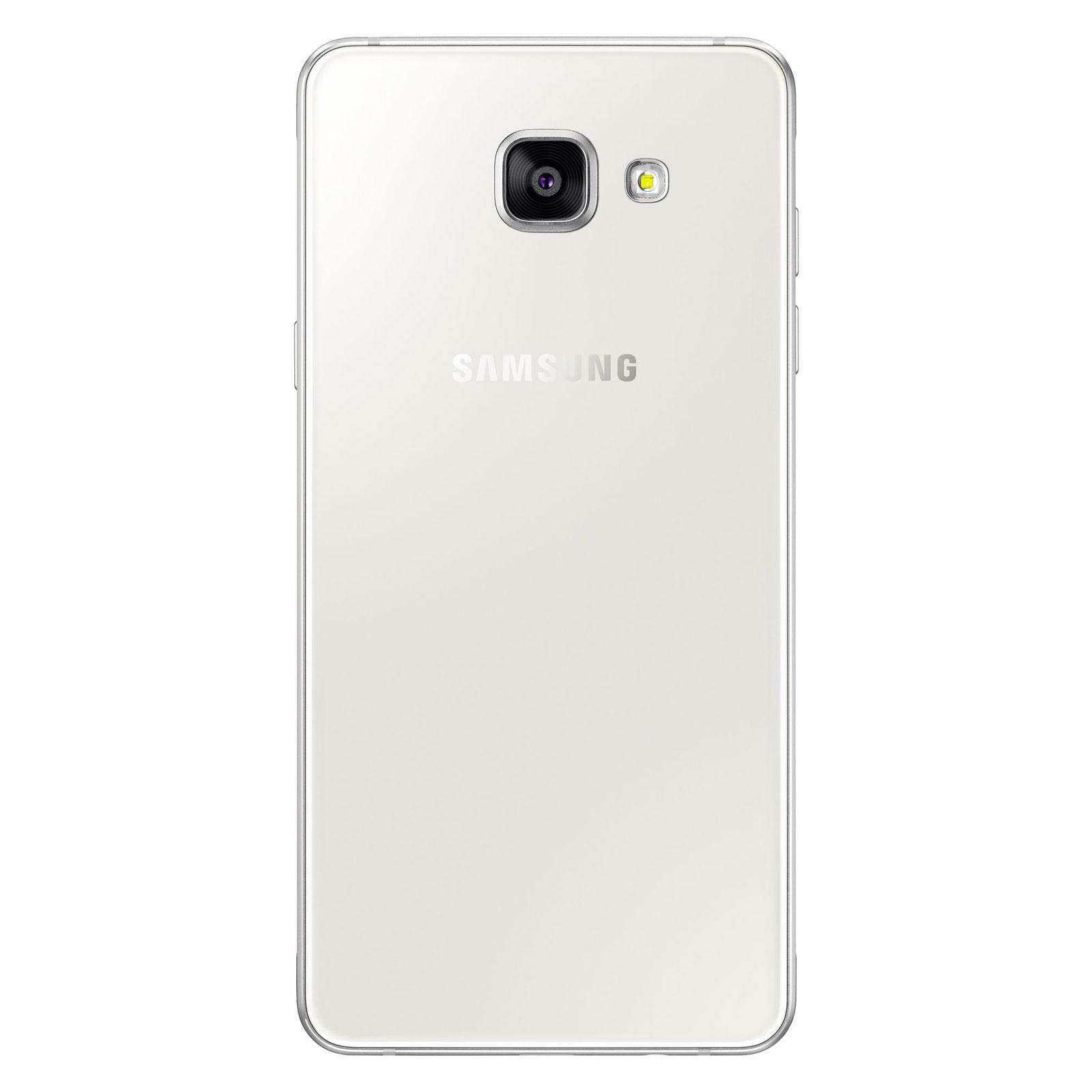 Samsung galaxy a5 2016 blanc mobile smartphone samsung for Photo ecran samsung a5