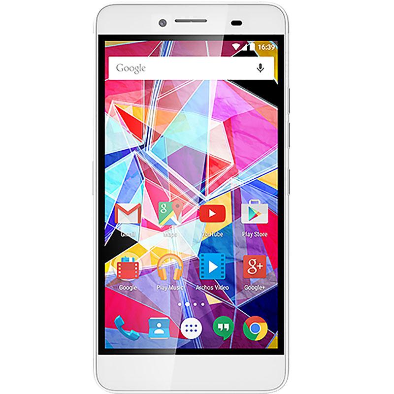 "Mobile & smartphone Archos Diamond Plus Smartphone 4G-LTE Dual SIM - ARM Cortex-A53 8-Core 1.3 GHz - RAM 2 Go - Ecran tactile 5.5"" 1080 x 1920 - 16 Go - Bluetooth 4.0 - 2850 mAh - Android 5.1"