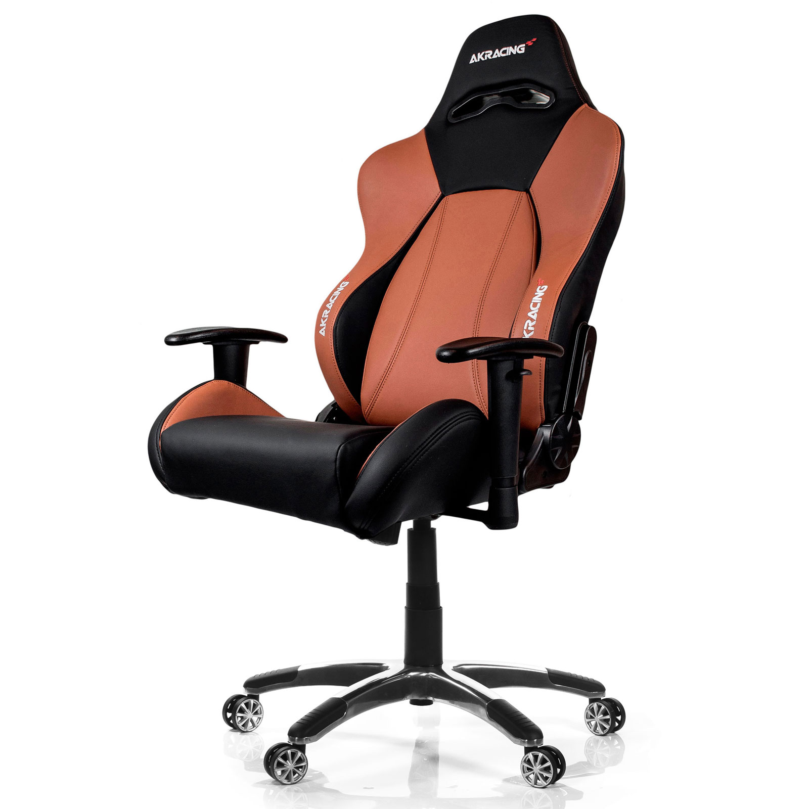 akracing premium gaming chair marron fauteuil gamer akracing sur. Black Bedroom Furniture Sets. Home Design Ideas