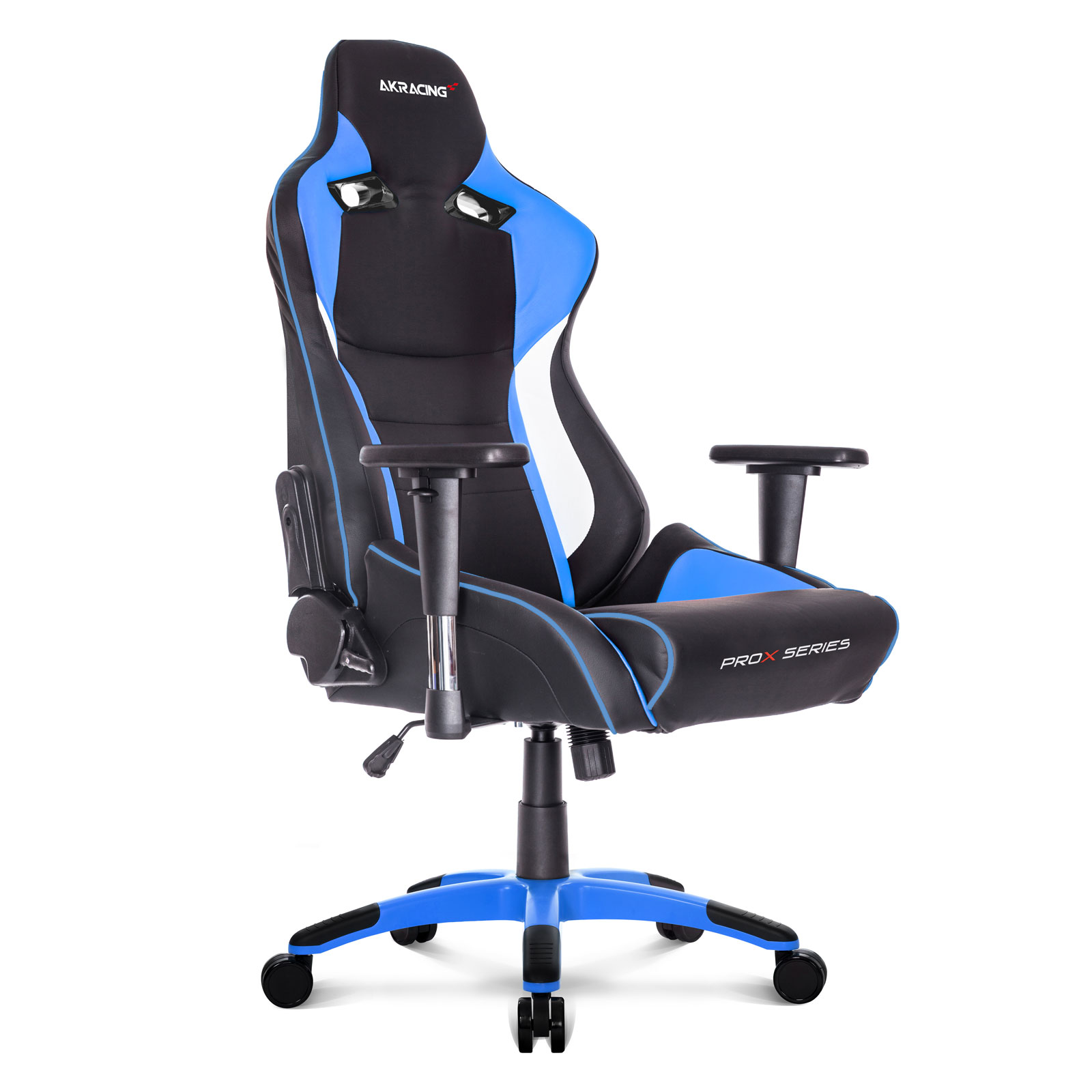 akracing prox gaming chair bleu fauteuil gamer akracing sur. Black Bedroom Furniture Sets. Home Design Ideas