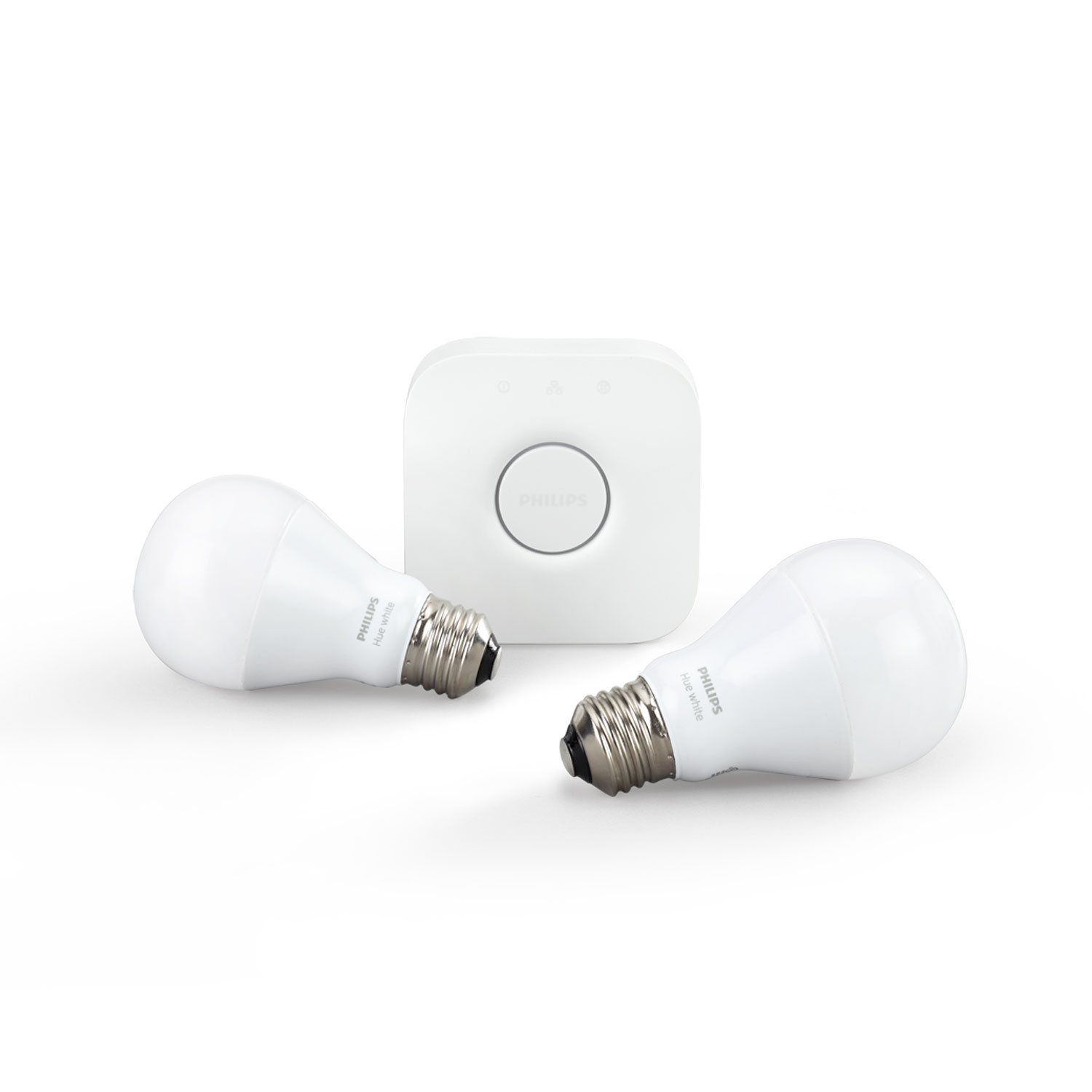 philips hue white kit de d marrage e27 ampoule connect e philips sur. Black Bedroom Furniture Sets. Home Design Ideas