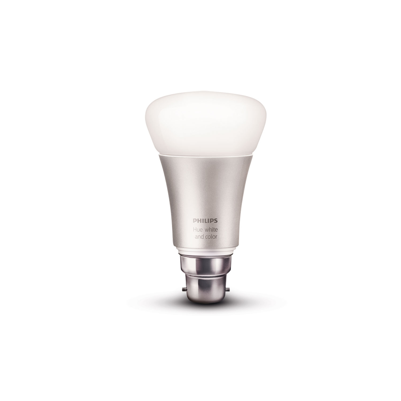 philips hue white color b22 a60 ampoule connect e. Black Bedroom Furniture Sets. Home Design Ideas