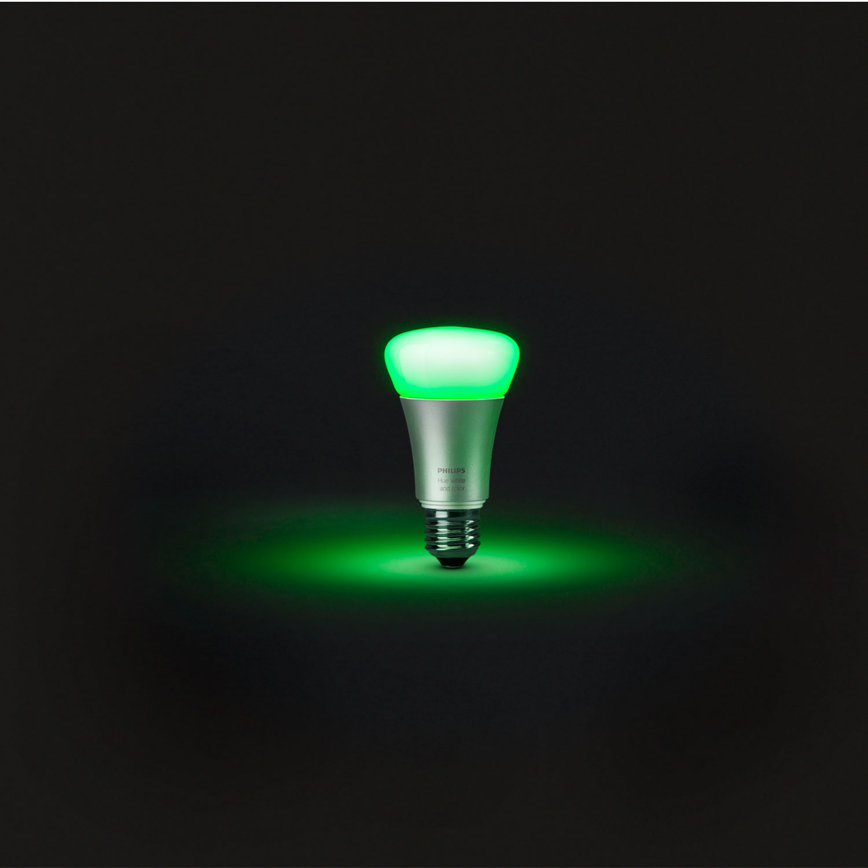 philips hue white color e27 a60 ampoule connect e philips sur. Black Bedroom Furniture Sets. Home Design Ideas