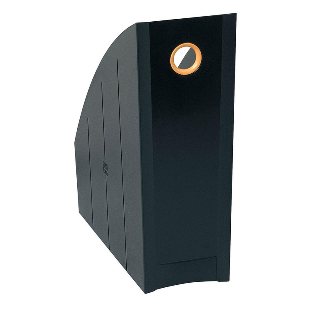 exacompta examag porte revues noir argent porte revues. Black Bedroom Furniture Sets. Home Design Ideas