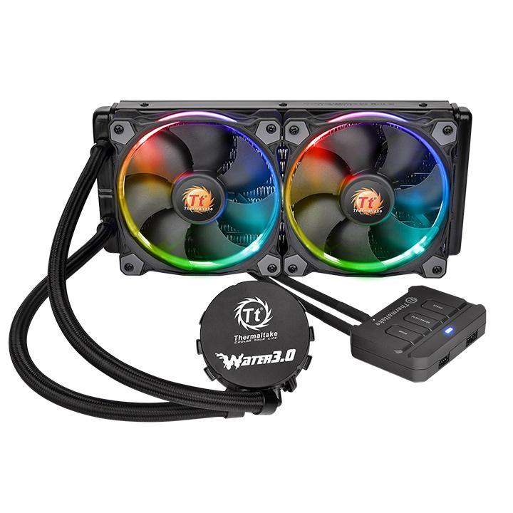 Ventilateur processeur Thermaltake Water 3.0 Riing RGB 240 Kit de Watercooling tout-en-un pour processeur