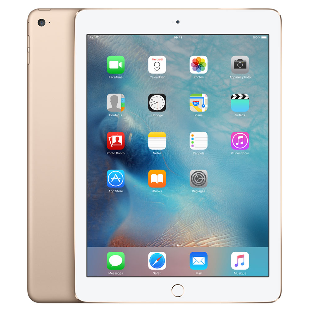 apple ipad air 2 16 go wi fi or tablette tactile apple sur. Black Bedroom Furniture Sets. Home Design Ideas