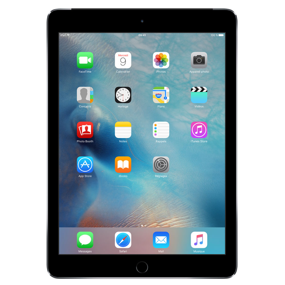 apple ipad air 2 128 go wi fi cellular gris sid ral tablette tactile apple sur. Black Bedroom Furniture Sets. Home Design Ideas
