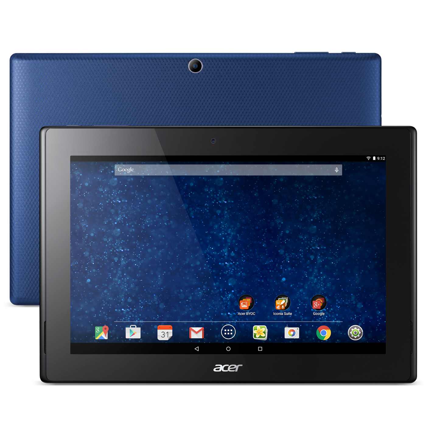 acer iconia tab 10 a3 a30 17ps bleu tablette tactile acer sur. Black Bedroom Furniture Sets. Home Design Ideas
